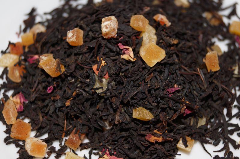 Чай из манго и маракуйя